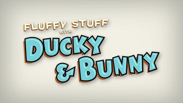 affiche poster fluffy stuff ducky bunny pixar popcorn disney