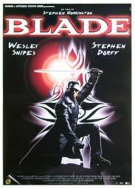 affiche poster blade disney marvel
