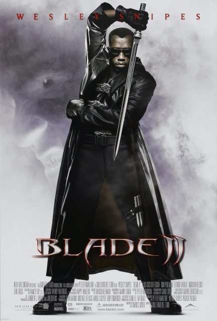 affiche poster blade 2 disney marvel