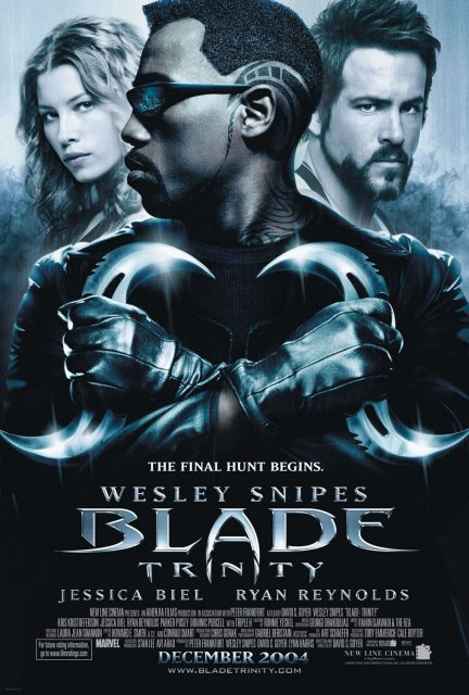 affiche poster blade trinity disney marvel