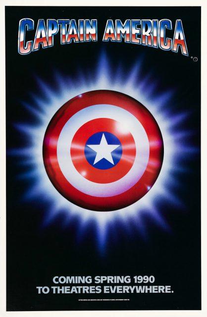 affiche poster captain america disney marvel