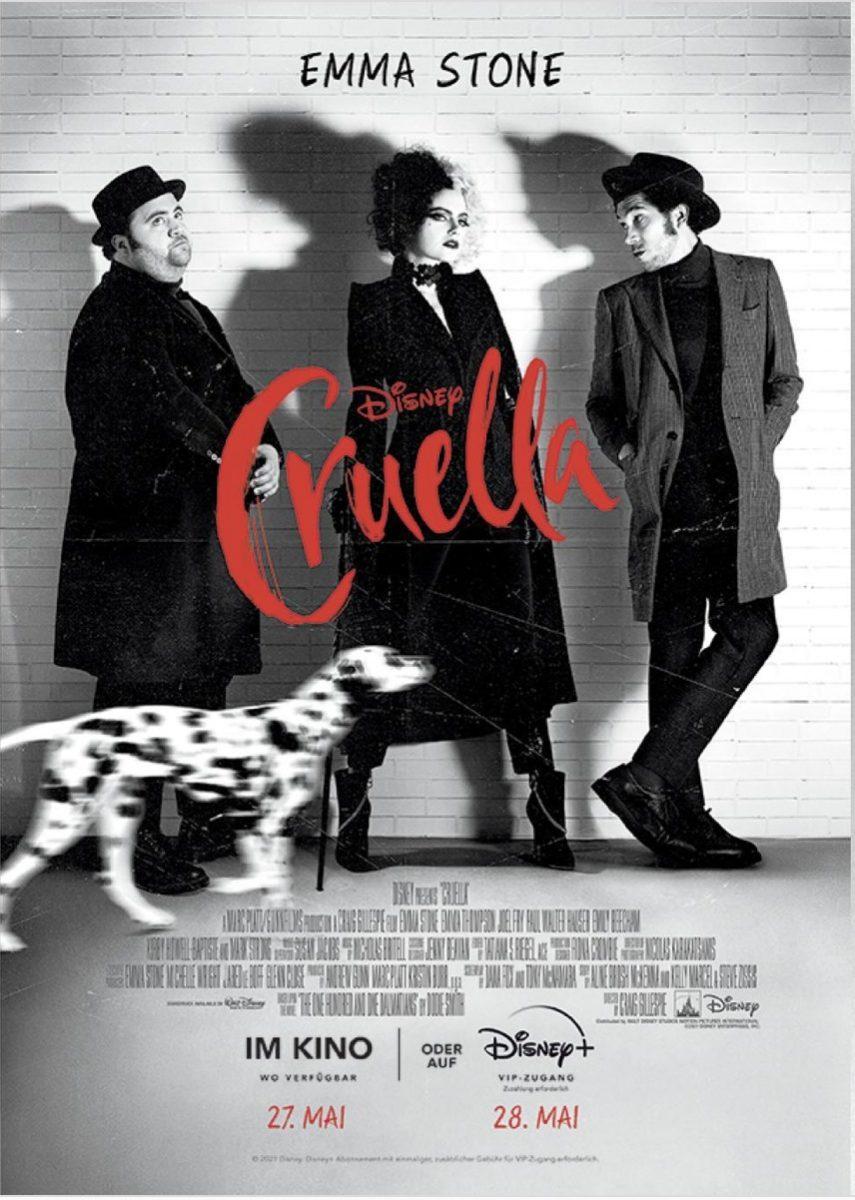 affiche poster cruella disney