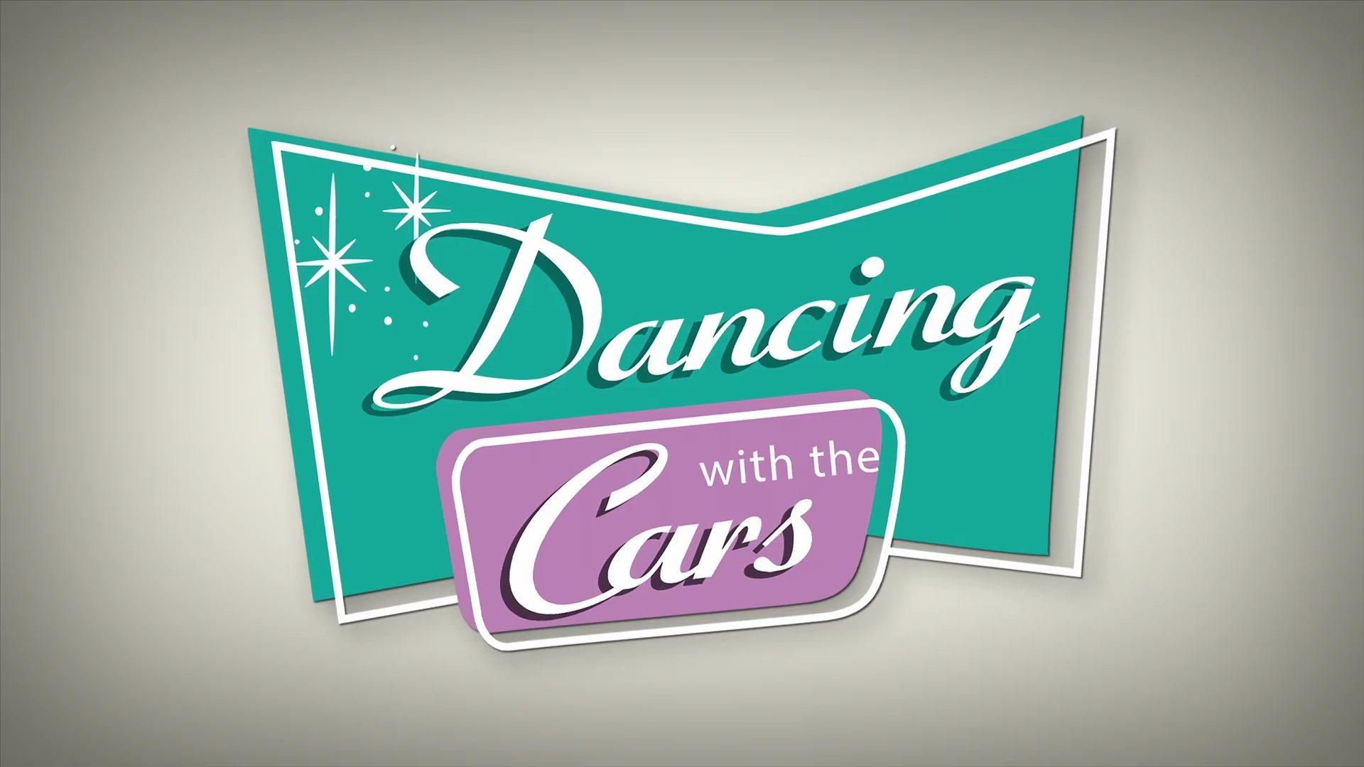 affiche poster dancing cars pixar popcorn disney