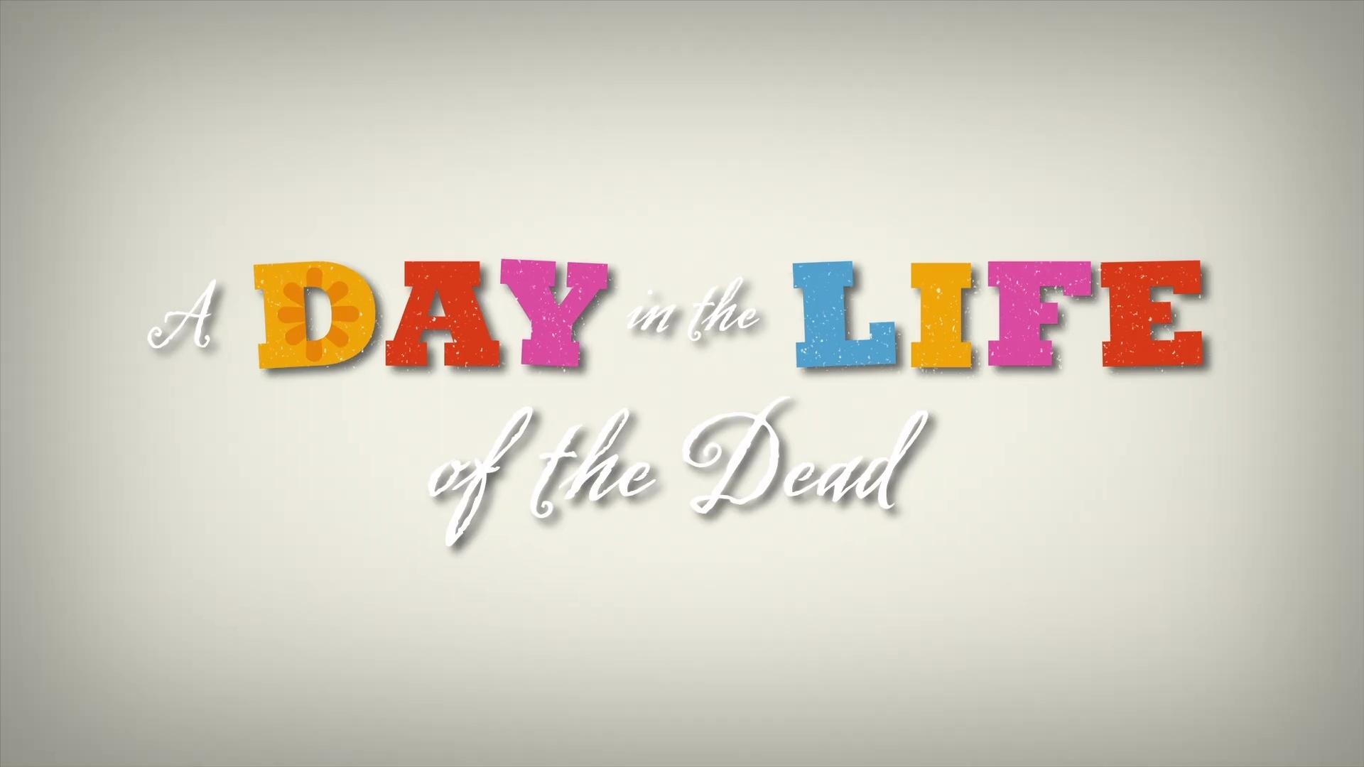 affiche poster day life dead pixar popcorn disney