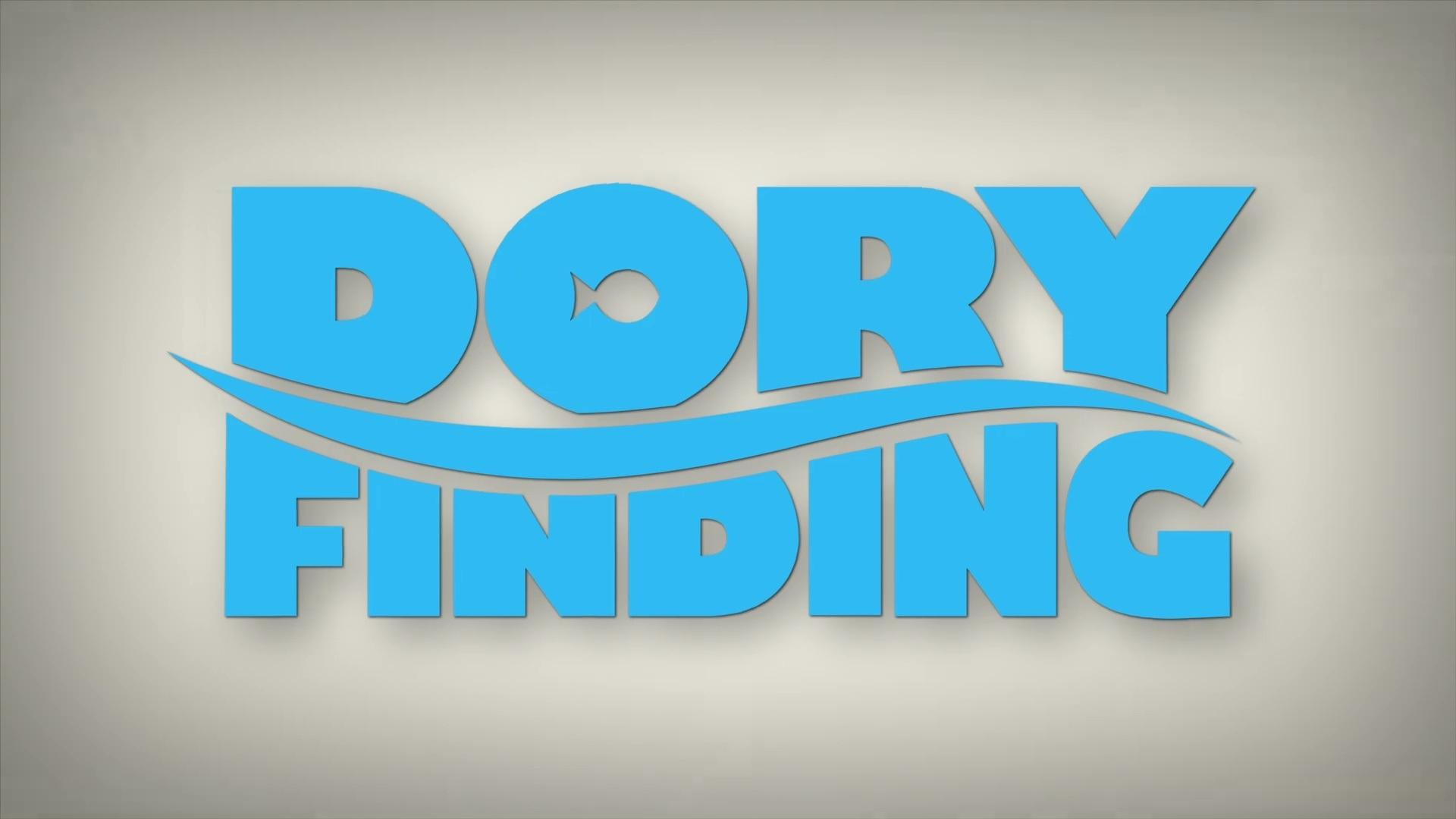 affiche poster dory finding pixar popcorn disney