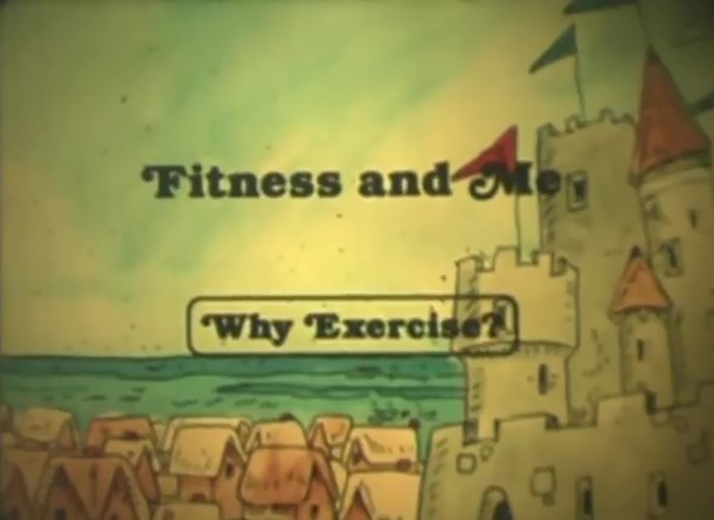affiche poster fitness why exercise disney