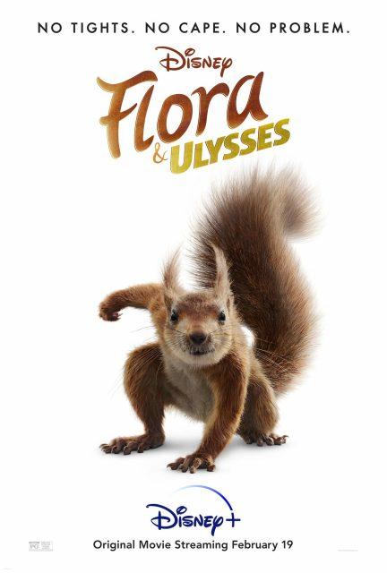 affiche poster flora ulysse disney