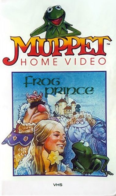 affiche poster frog prince disney muppets