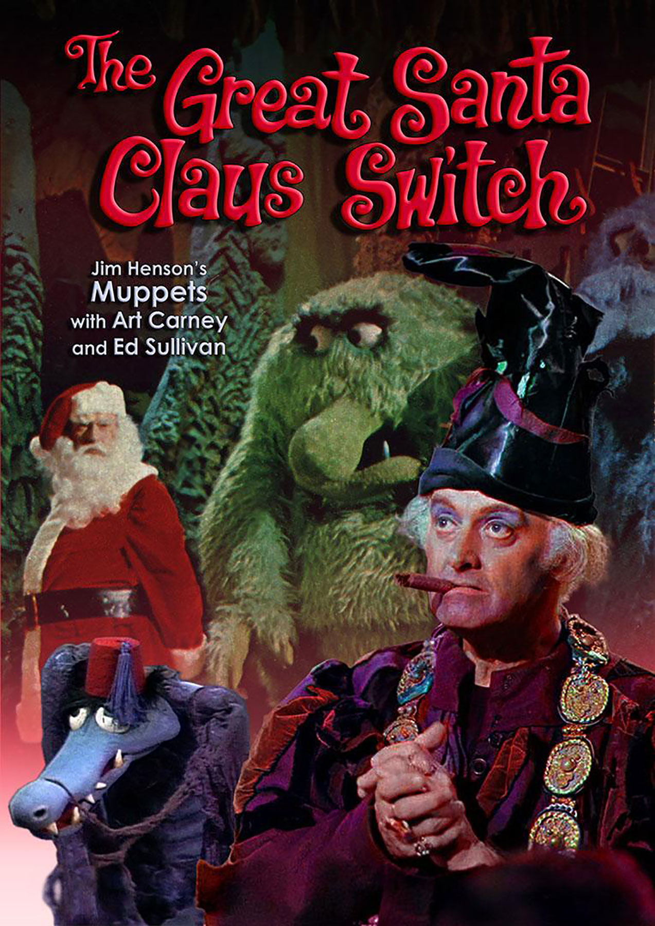 affiche poster great santa claus switch disney muppets
