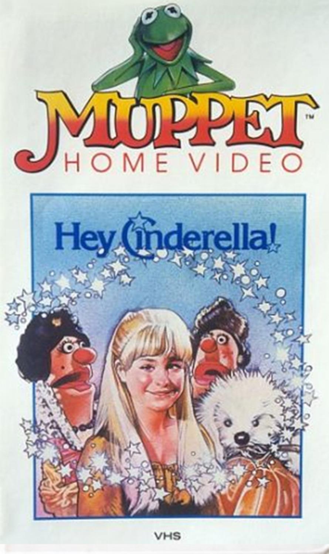 affiche poster hey cinderella muppet disney