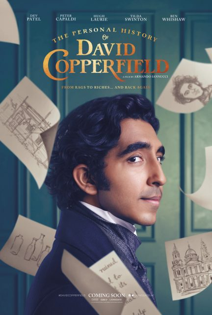 affiche poster histoire personnelle story personal david copperfield disney