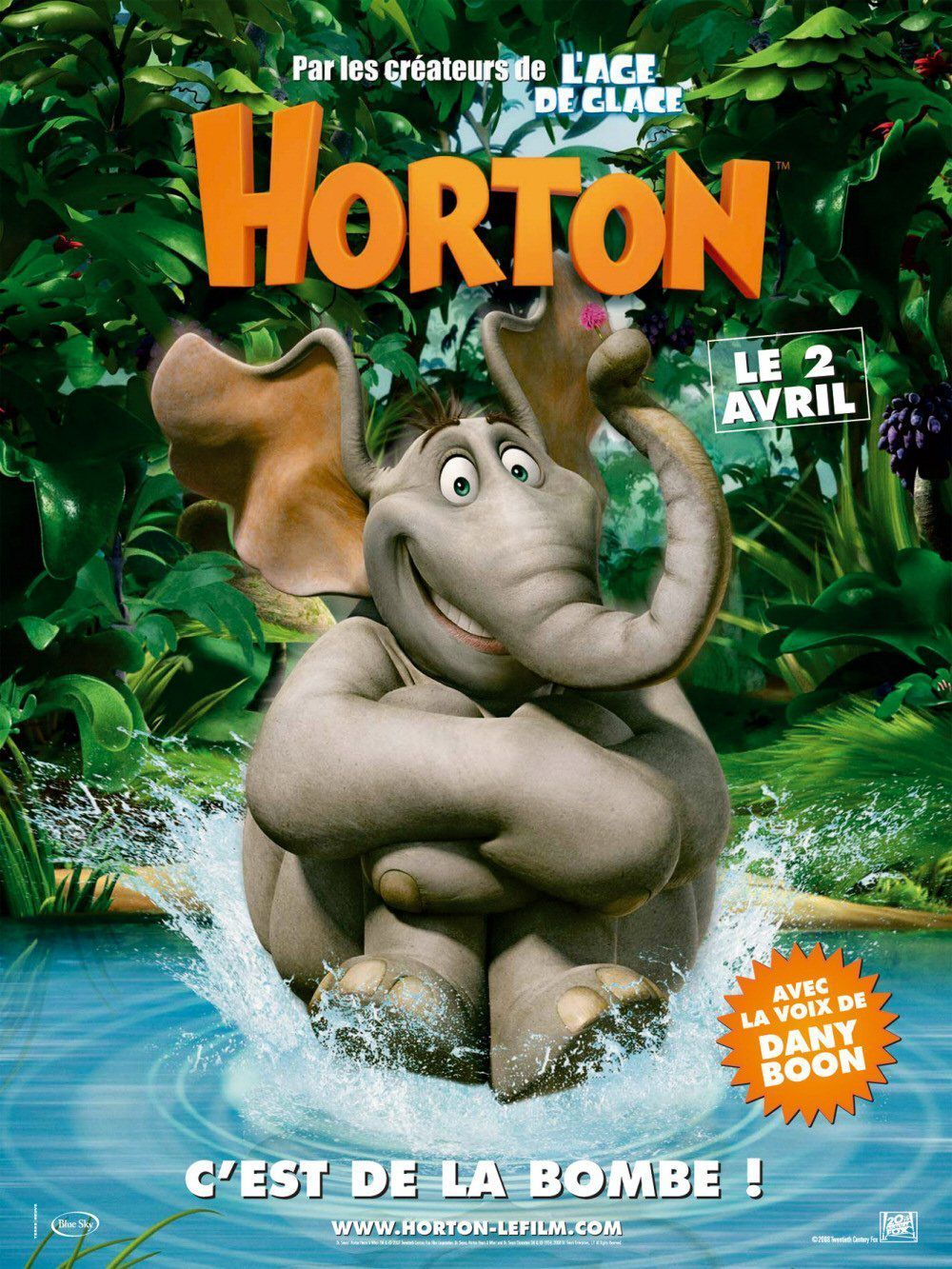 affiche poster horton hears who disney blue sky