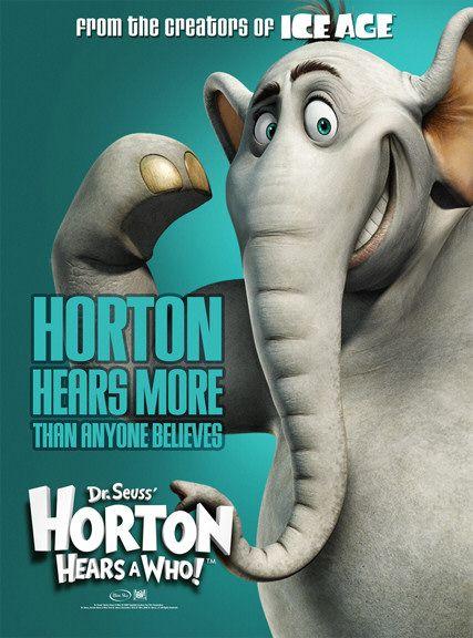 affiche poster horton hears who disney blue sky