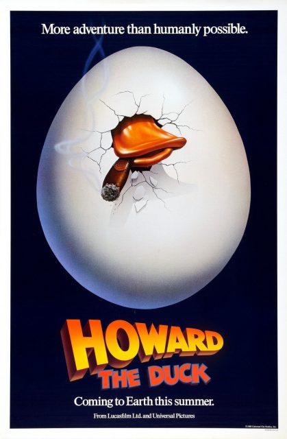 affiche poster howard nouvelle race héros duck disney marvel lucasfilm