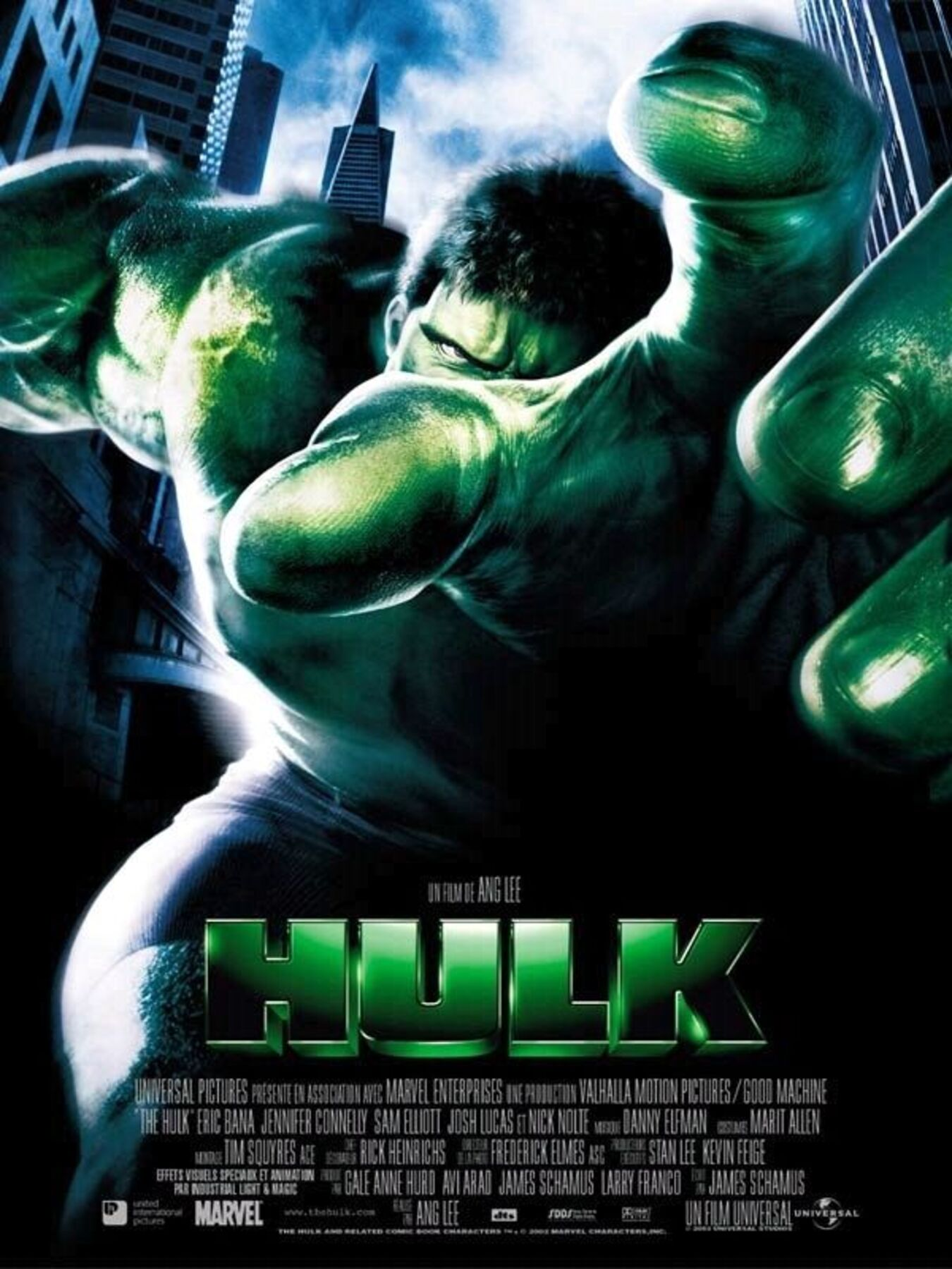 affiche poster hulk disney marvel