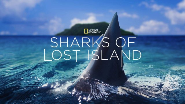 affiche poster iles perdues pacifique shark lost island disney nat geo