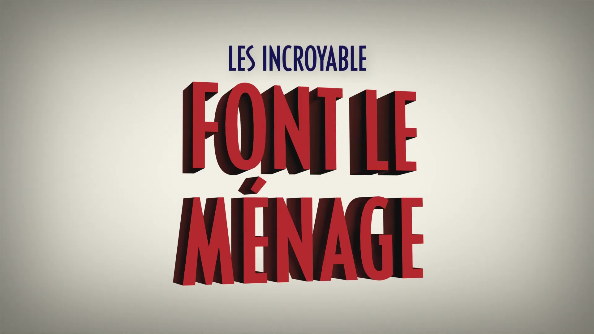 affiche poster chore day incredibles way incroyable ménage pixar popcorn disney