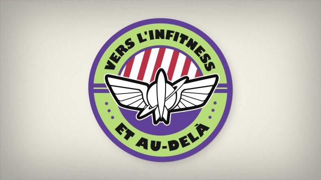 affiche poster dela fitness beyond pixar popcorn disney