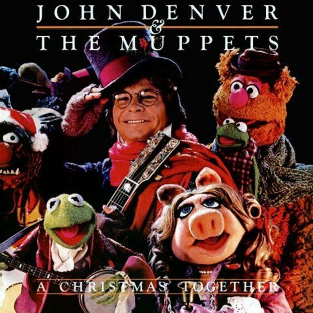 affiche poster john denver muppets christmas together disney