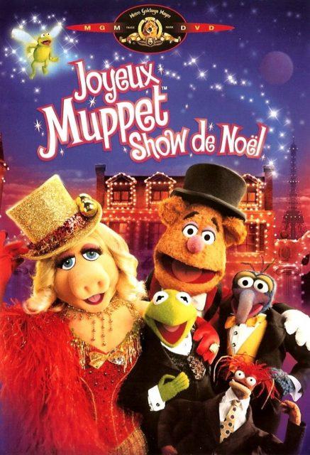 affiche poster joyeux muppet show noel very merry movie christmas disney