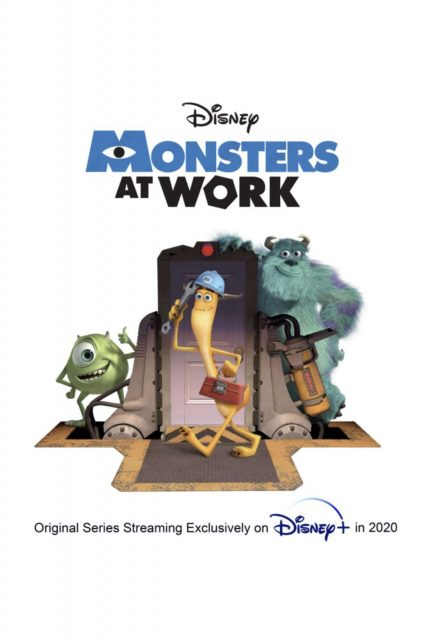 affiche poster monsters work disney pixar