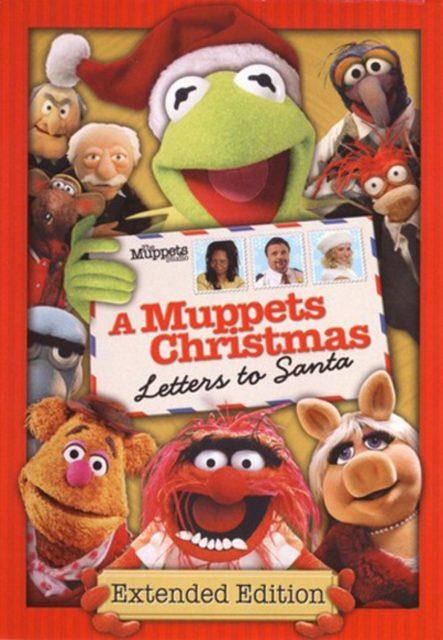 affiche poster muppets christmas letters santa disney