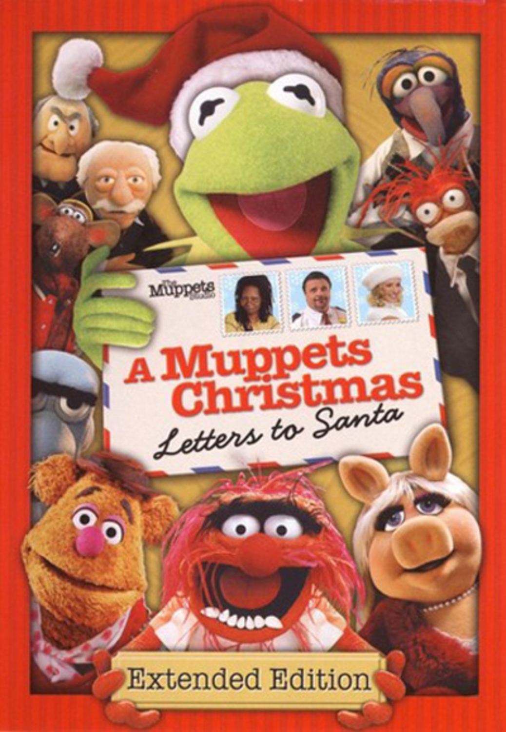 affiche poster muppets christmas letters santa disney