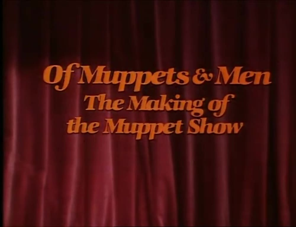 affiche poster muppets men making of show disney