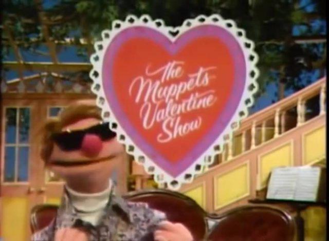 affiche poster muppets valentine show disney