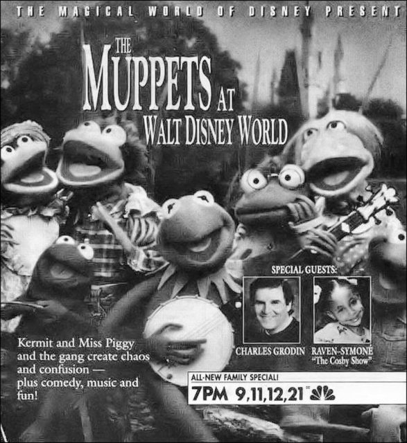 affiche poster muppets walt disney world