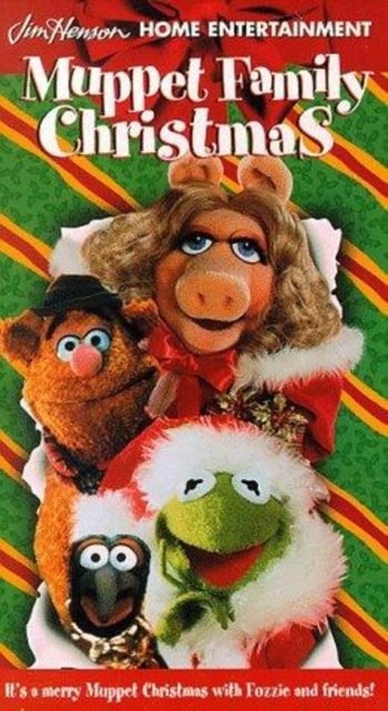affiche poster noel muppets family disney