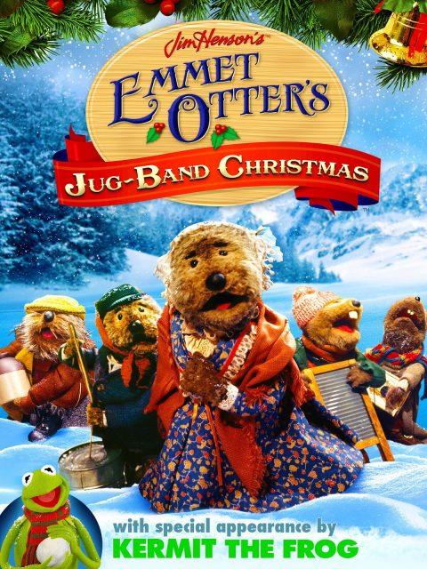affiche poster noel musique Emmet Otte Jug Band Christmas disney muppets