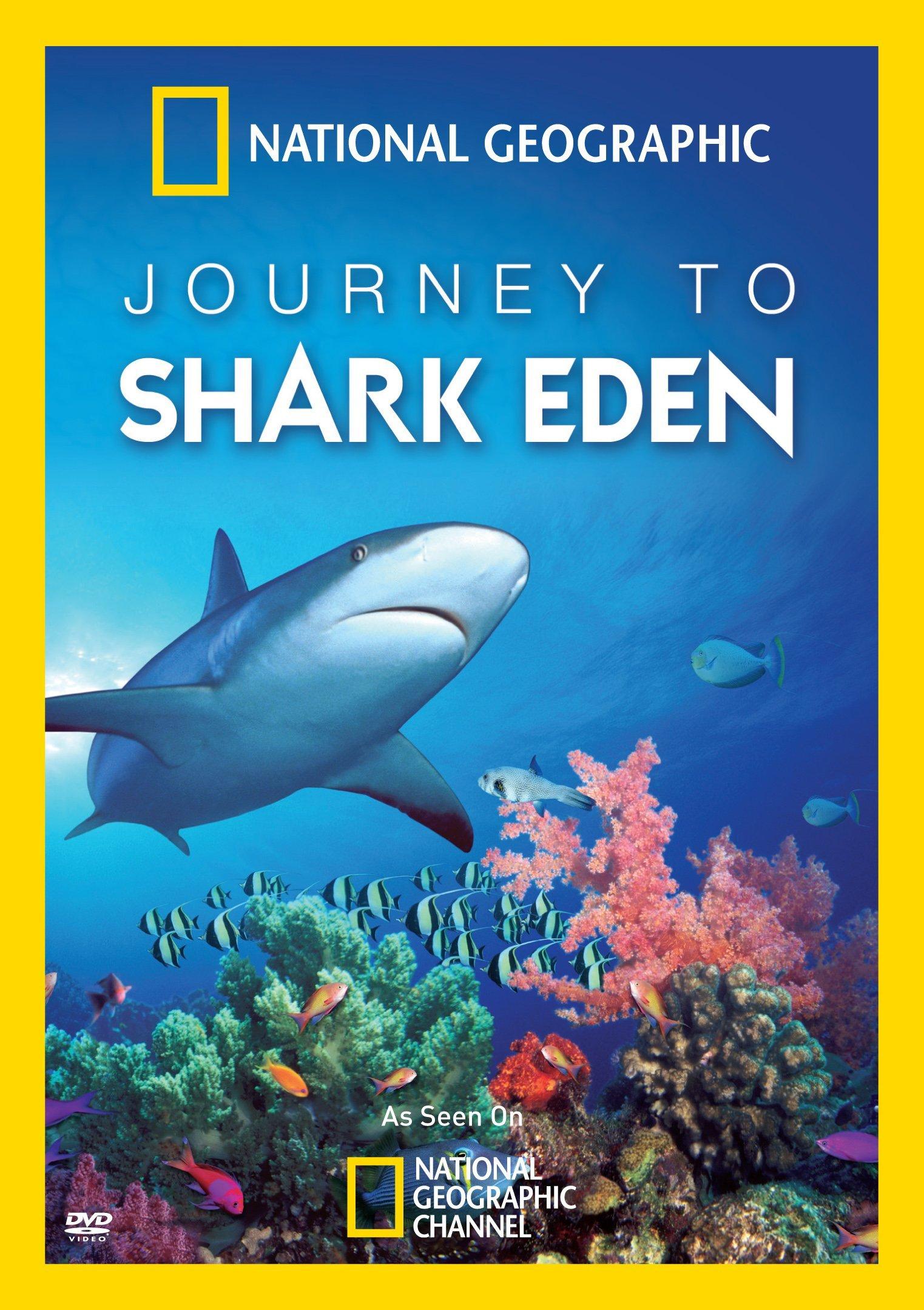 affiche poster journey paradis eden requins shark disney nat geo