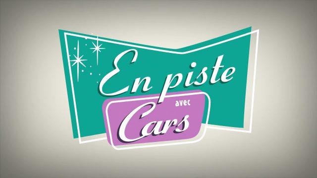 affiche poster dancing cars piste pixar popcorn disney