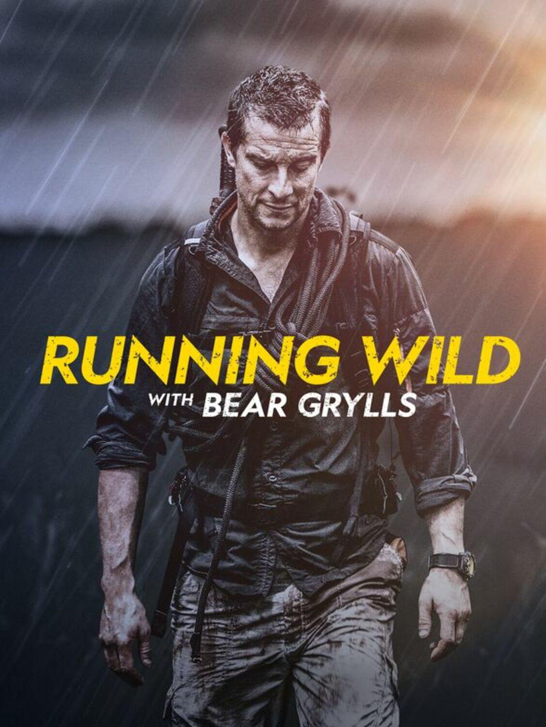 affiche poster running wild pleine nature bear grylls disney nat geo