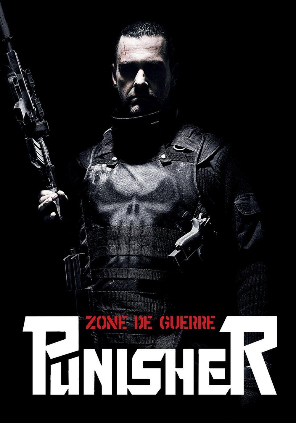 affiche poster punisher zone guerre war disney marvel