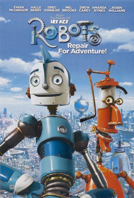 affiche poster robots disney blue sky
