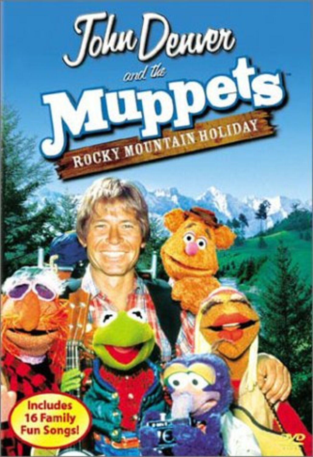 affiche poster rocky mountain holiday john denver muppets disney