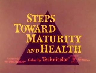 affiche poster steps toward maturity health disney