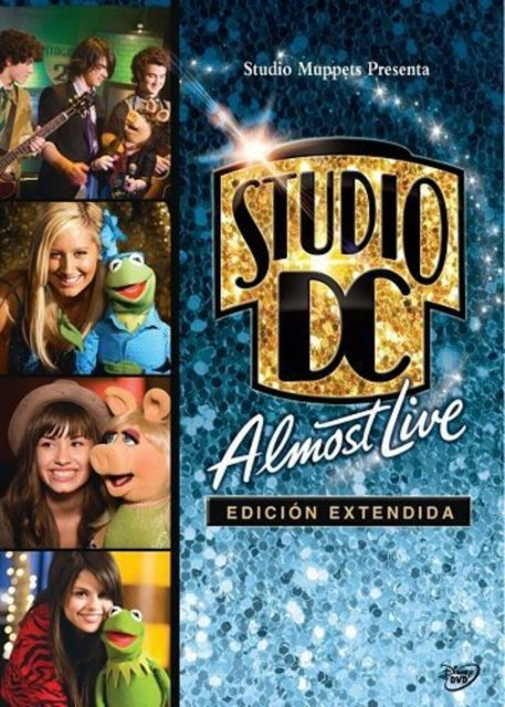 affiche poster studio dc almost live disney channel muppets