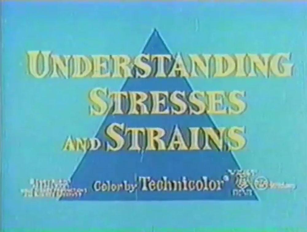 affiche poster understanding stresses strains disney