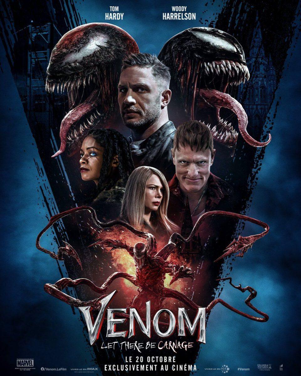affiche poster venom let there be carnage disney marvel