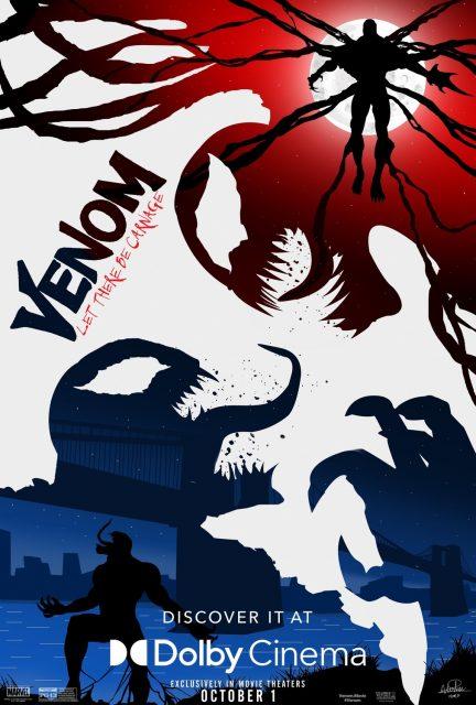 affiche poster venom let there be carnage marvel