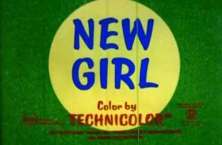 affiche poster what should new girl disney
