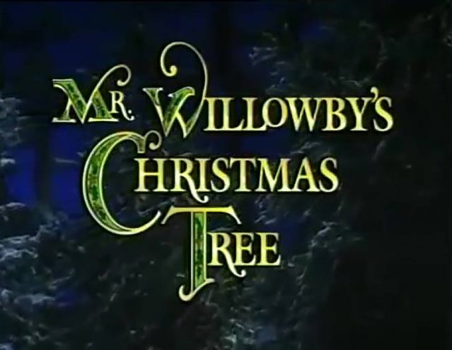 affiche poster willowby christmas tree disney muppets