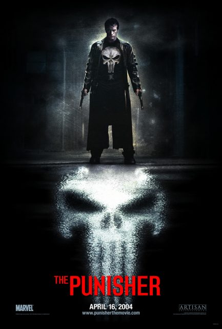 affiche poster punisher disney marvel