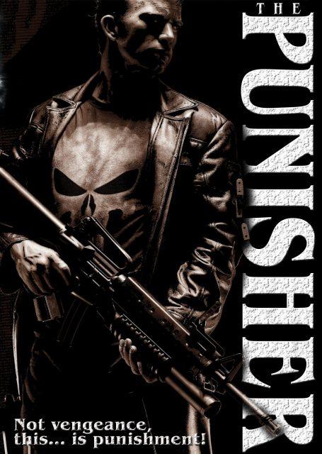 affiche poster punisher disney marvel