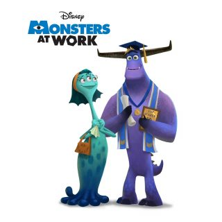 concept art monsters work disney pixar