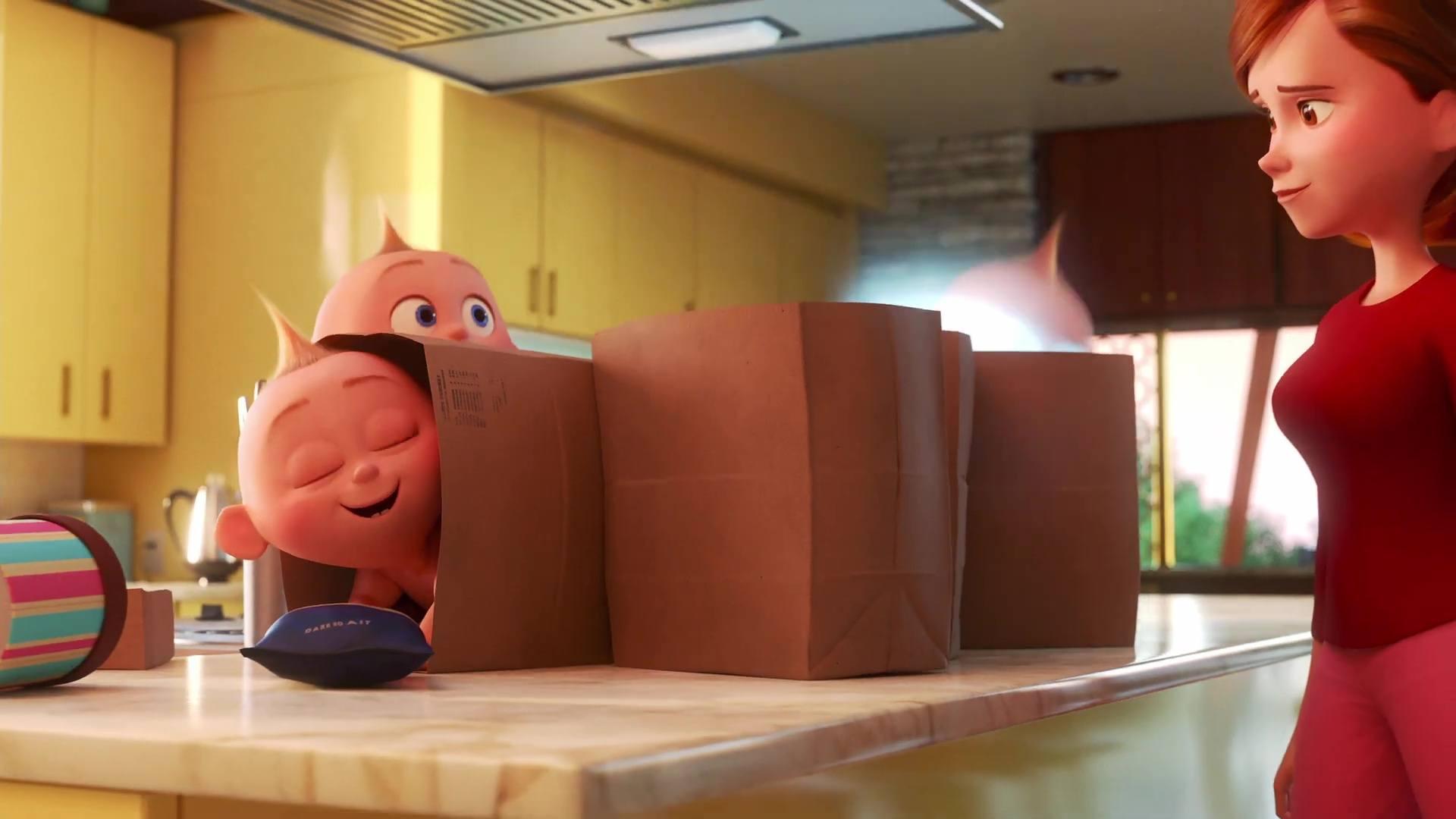 image chore day incredibles way pixar popcorn disney