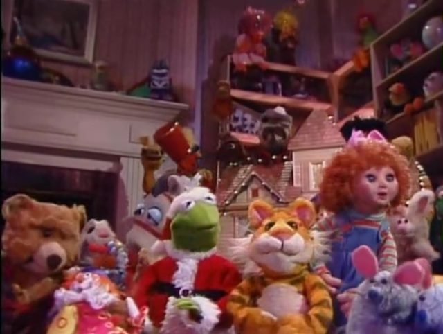 image christmas toy disney muppets